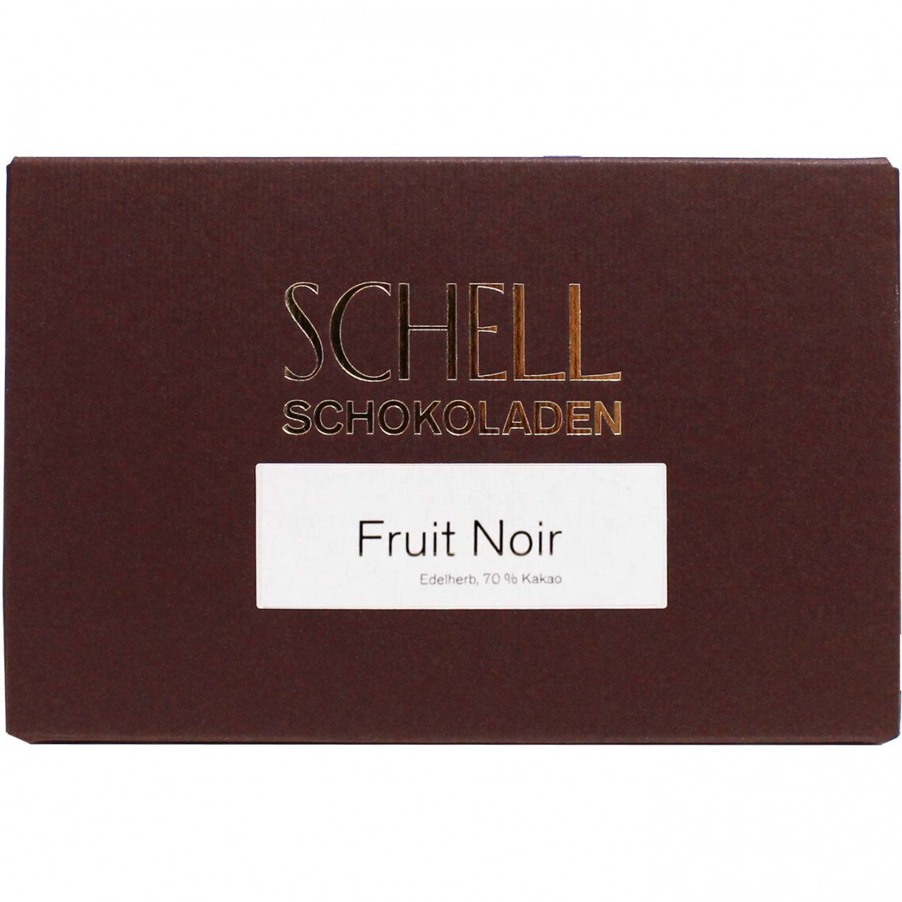 70% chocolate fruit noir - Bar of Chocolate, Germany, german chocolate, Chocolate with fruits - Chocolats-De-Luxe