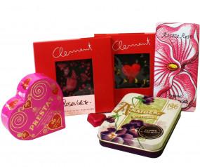 """Schokolade und Pralinen """"Statt Blumen"""""""