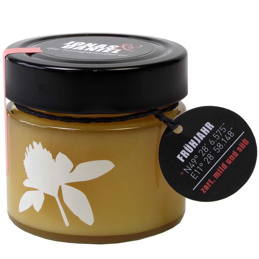 Die Honigwanderer Frühjahrshonig Bio 250g Glas -  - Chocolats-De-Luxe