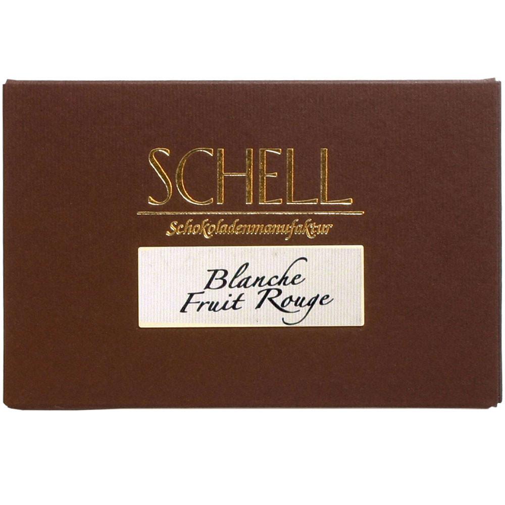 Schell Schokoladenmanufaktur, Gundelsheim, Schokolade zu Wein, weisse Schokolade, white chocolate, chocolat blanc                                                                                        - Chocoladerepen, Duitsland, Duitse chocolade, Chocolade met fruit - Chocolats-De-Luxe