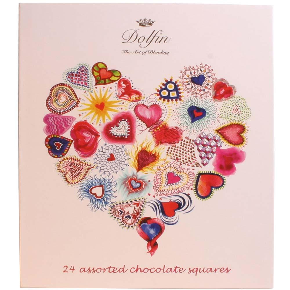 Chocoladegift Love met 24 Napolitains