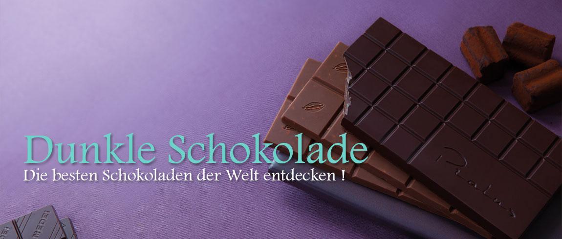 Die besten dunklen Schokoladen - filterbar