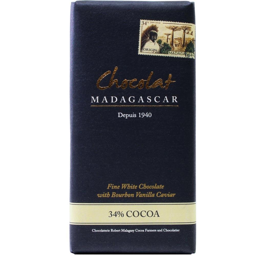 Madagaskar, weiße Schokolade, Bourbon Vanille,