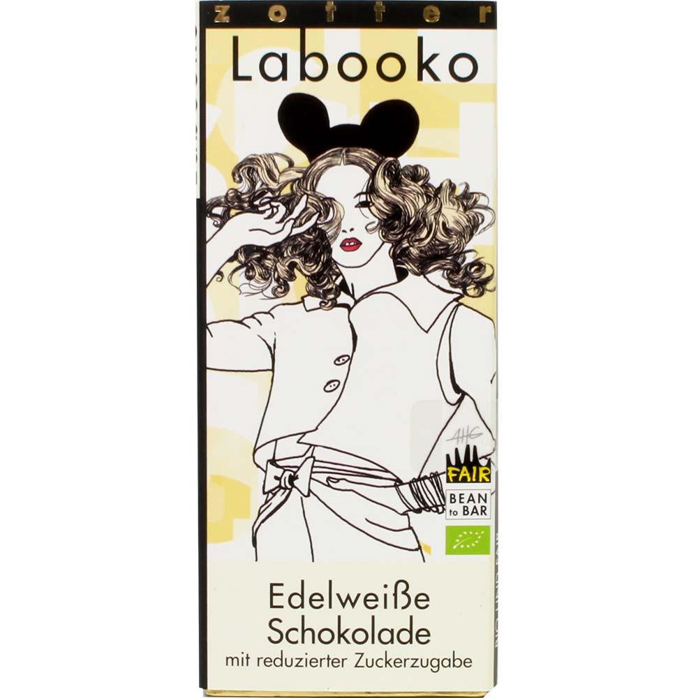 Edelweiße Schokolade mit reduzierter Zuckerzugabe - Bar of Chocolate, Austria, austrian chocolate, chocolate with milk, milk chocolate - Chocolats-De-Luxe