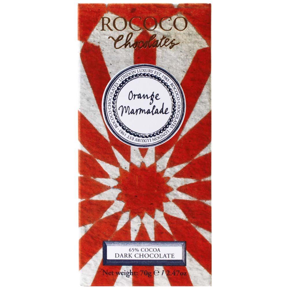 Rococo Orange Marmalade 65 dunkle Schokolade