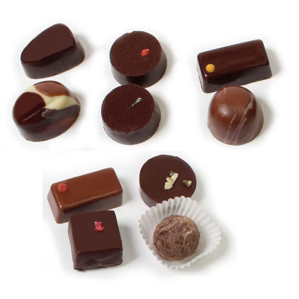 Cioccolatini vincitore Ballotin 10 pezzi , Cioccolatini , Austria, Cioccolato austriaco , - Chocolats-De-Luxe