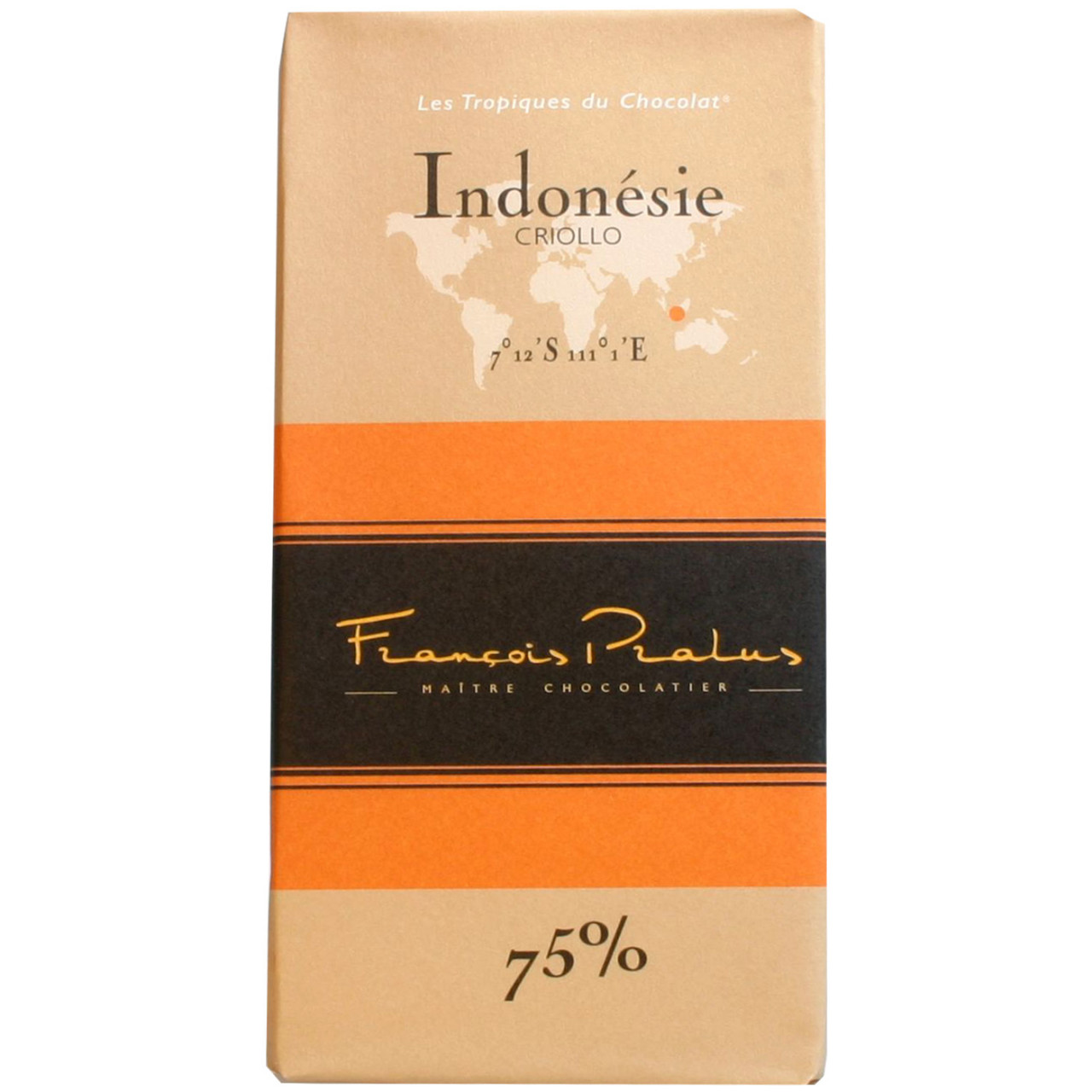 Dunkle Schokolade 75%, Indonesien Criollo, dark chocolate, chocolat noir, bean to bar,