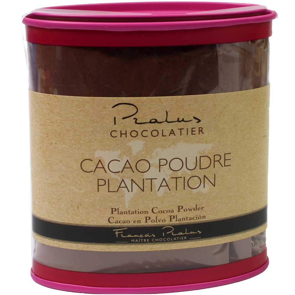 Piantagione di polvere di cacao - 100% regine Kakaopulver - 100% Cacao in polvere, cioccolato senza glutine, cioccolato senza lattosio, cioccolato senza zucchero, cioccolato vegano, Francia, cioccolato francese, cioccolato puro senza ingredienti - Chocolats-De-Luxe