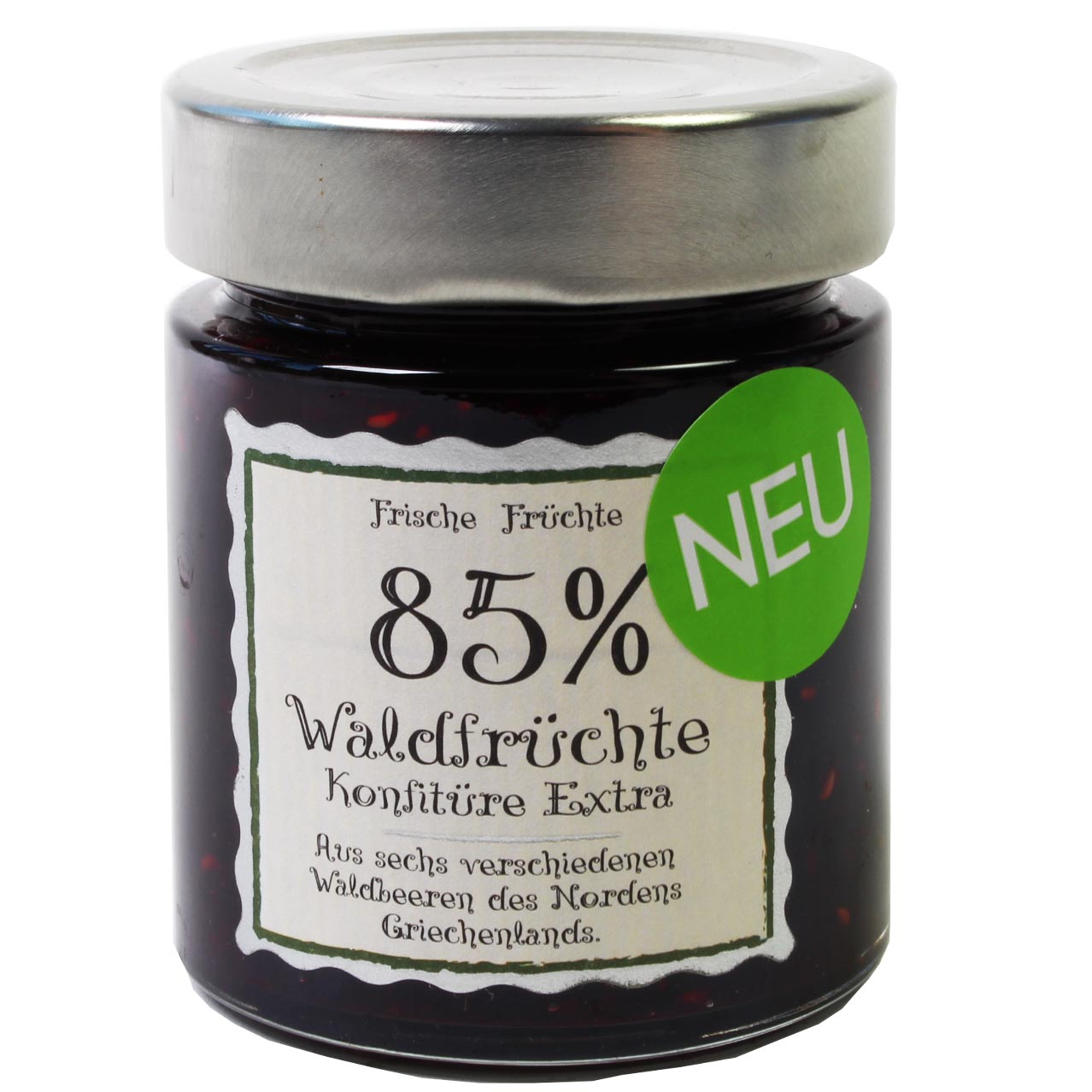 Forest fruit jam Extra 85% fruit content -  - Chocolats-De-Luxe