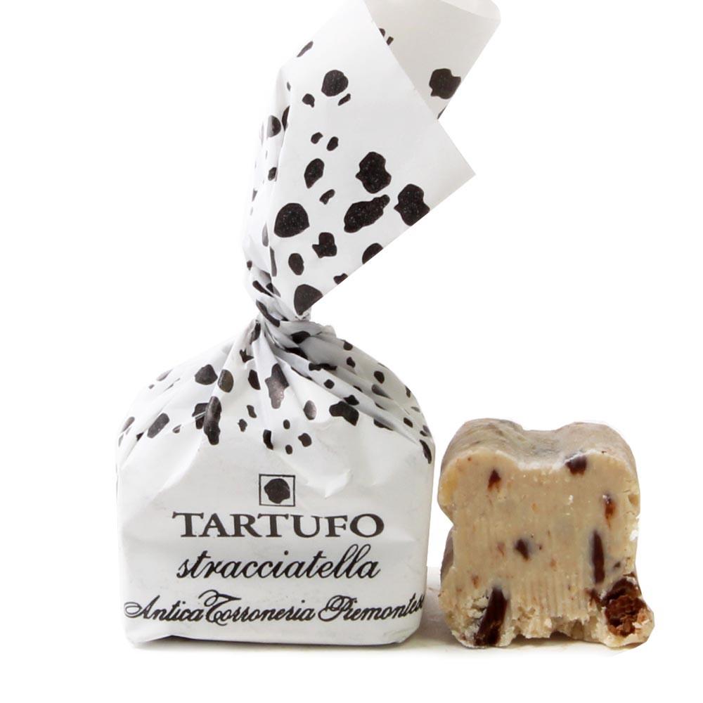 Tartufo, Trüffel, Haselnuss Praline, Stracciatella