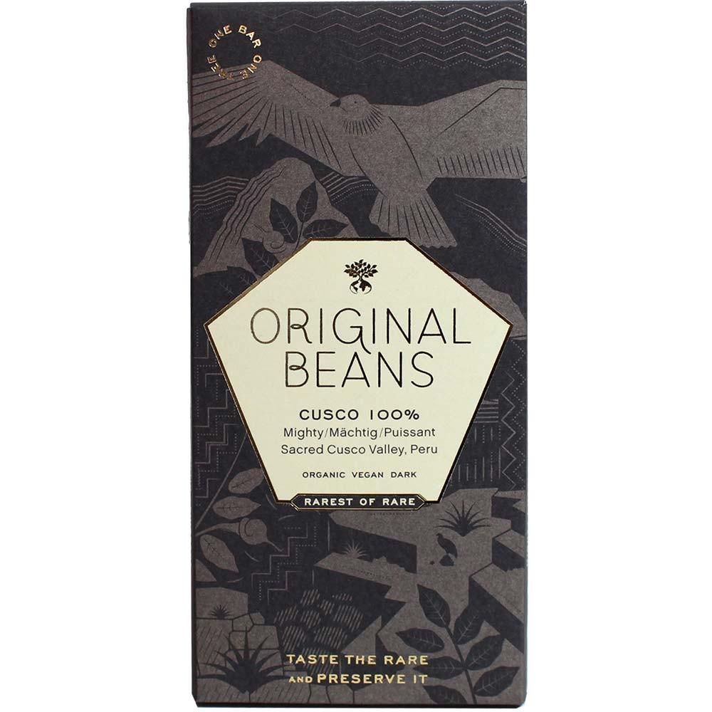 Original Beans Cusco Chuncho 100% Seltene Schokolade aus Peru | chocolats-de-luxe.de