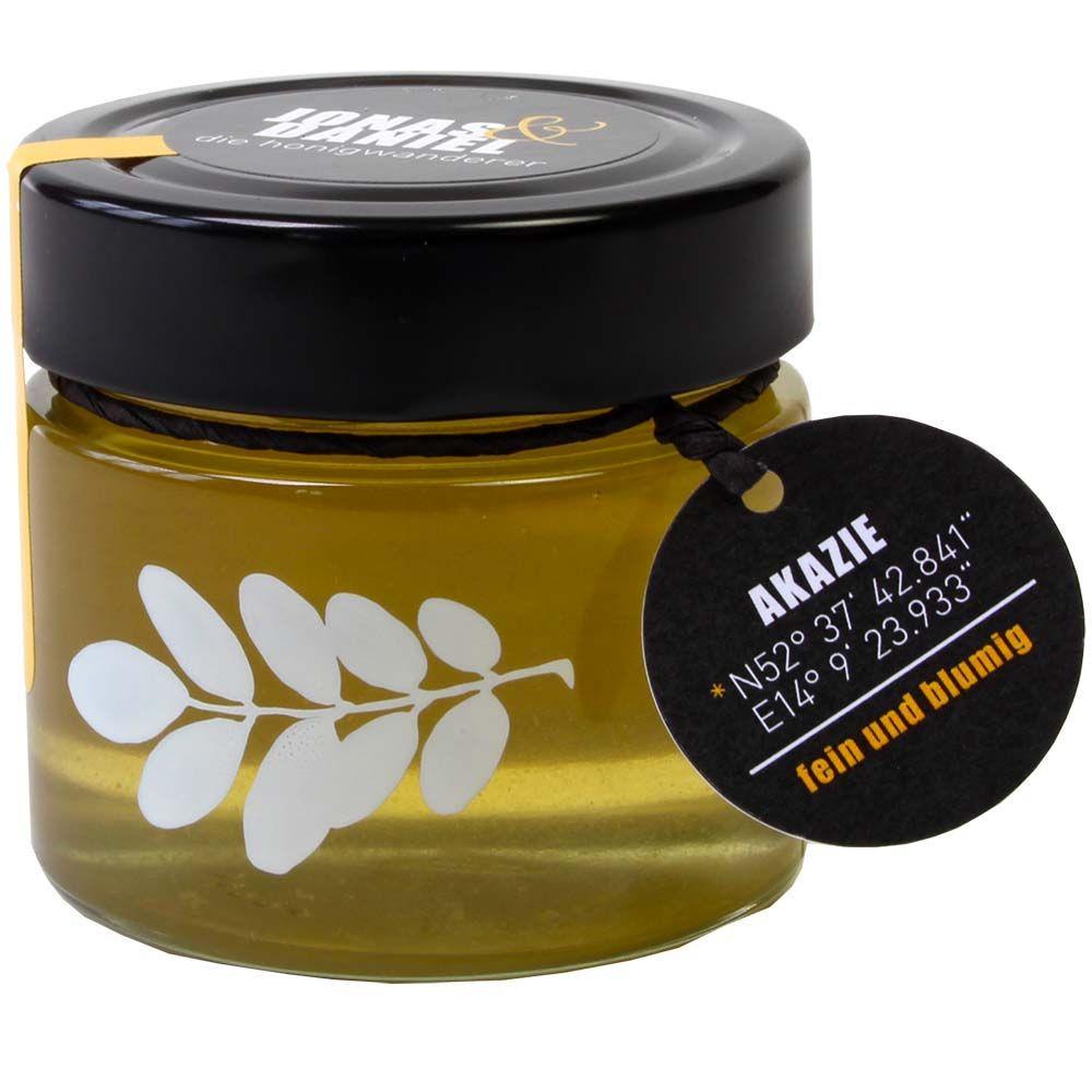 Die Honigwanderer Akazienhonig Bio 250g Glas -  - Chocolats-De-Luxe