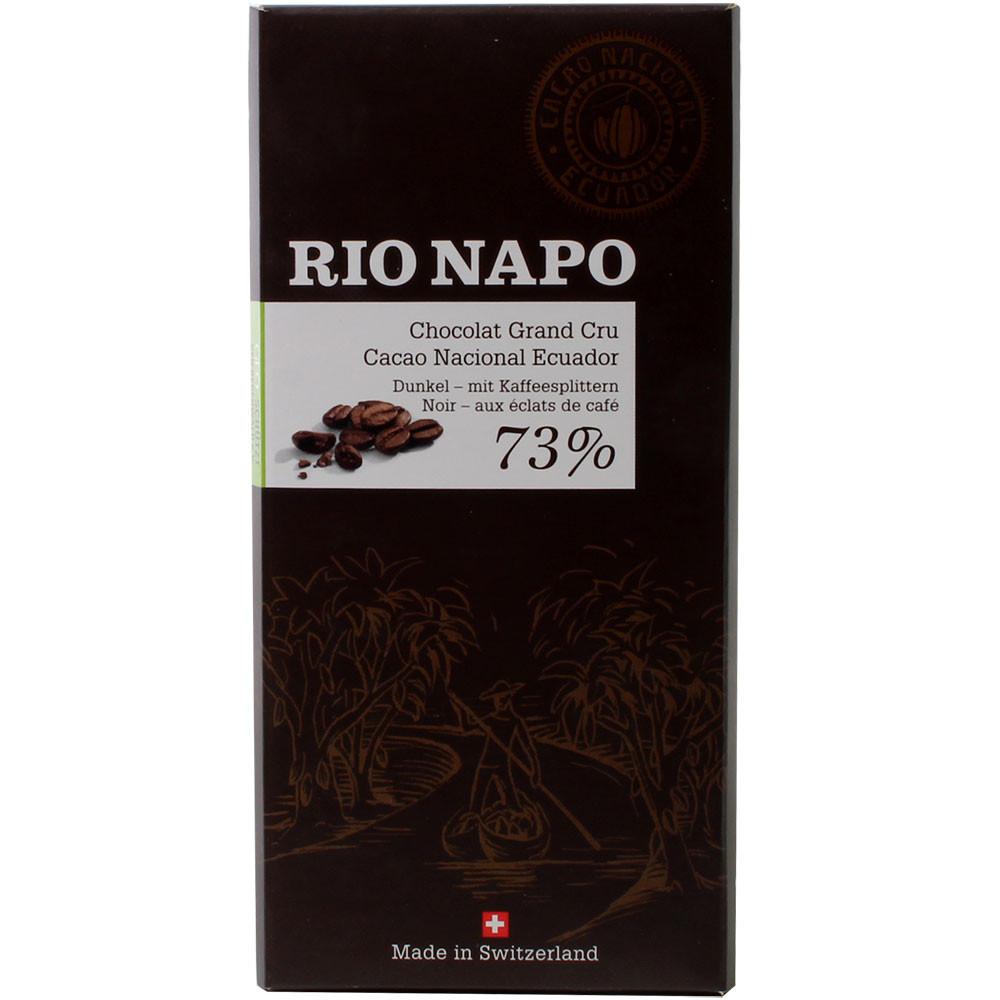 Chocolat Forêt Grand Cru 73% Café Chocolat Noir