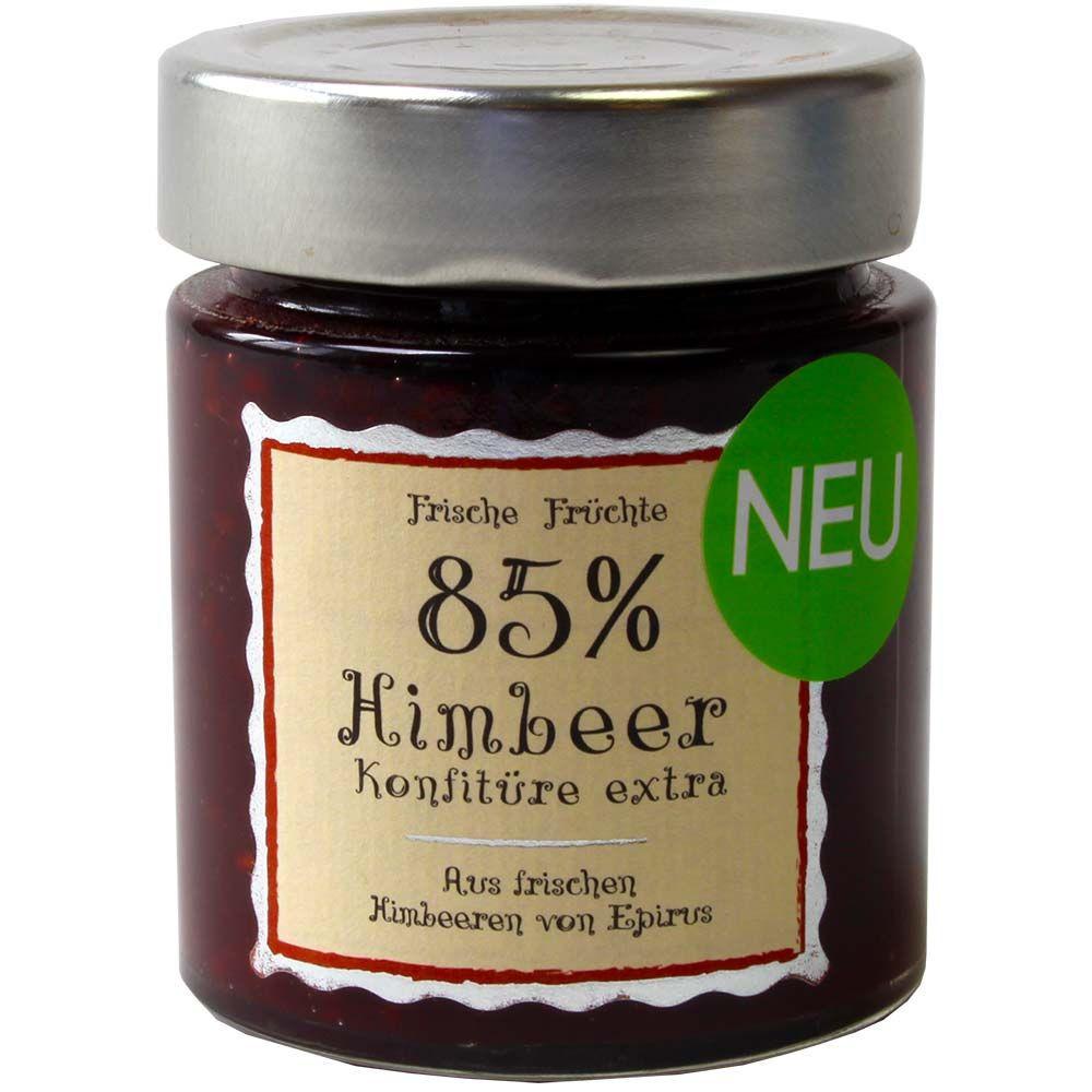 Confiture de framboises extra 85% fruits - Grèce,  chocolat grec - Chocolats-De-Luxe