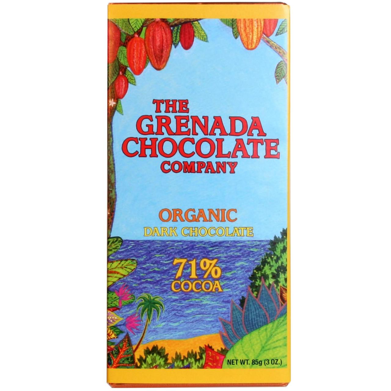 Bio Schokolade, Organic, Grenada, dark chocolate, dunkle Schokolade, chocolat noir, cocoa cacao,