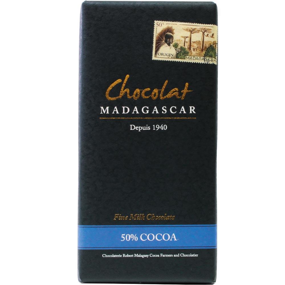 Madagaskar, Milchschokolade, Bio, - Tavola di cioccolato, adatto ai vegetariani, cioccolato senza glutine, Madagascar, Cioccolato malgascio - Chocolats-De-Luxe