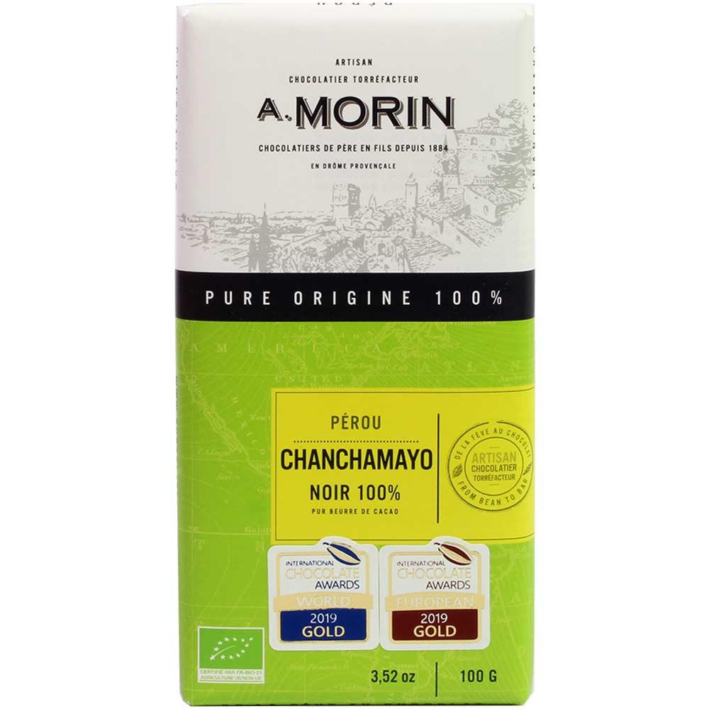 Chanchamayo Noir chocolate 100% orgánico de Perú