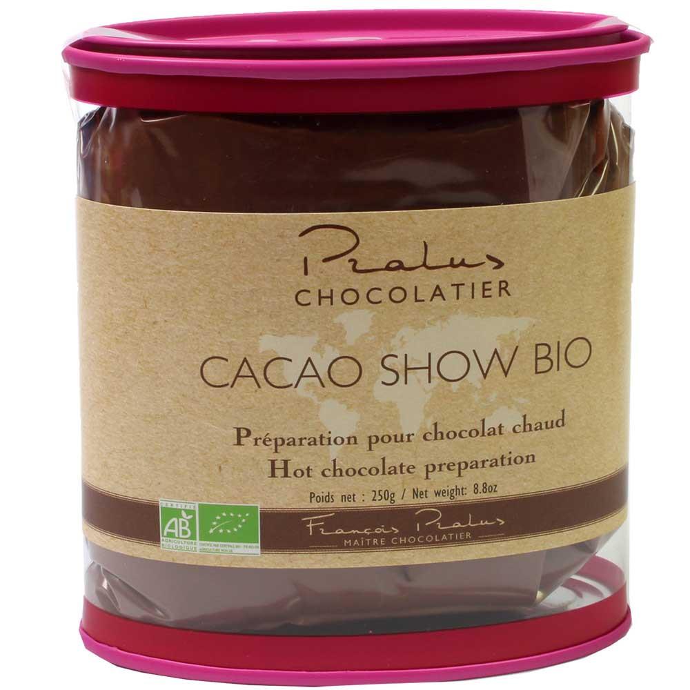 Cacao Show - cioccolata dal Madagascar da bere 75% - Cioccolata calda, Francia, cioccolato francese, Cioccolato con zucchero - Chocolats-De-Luxe