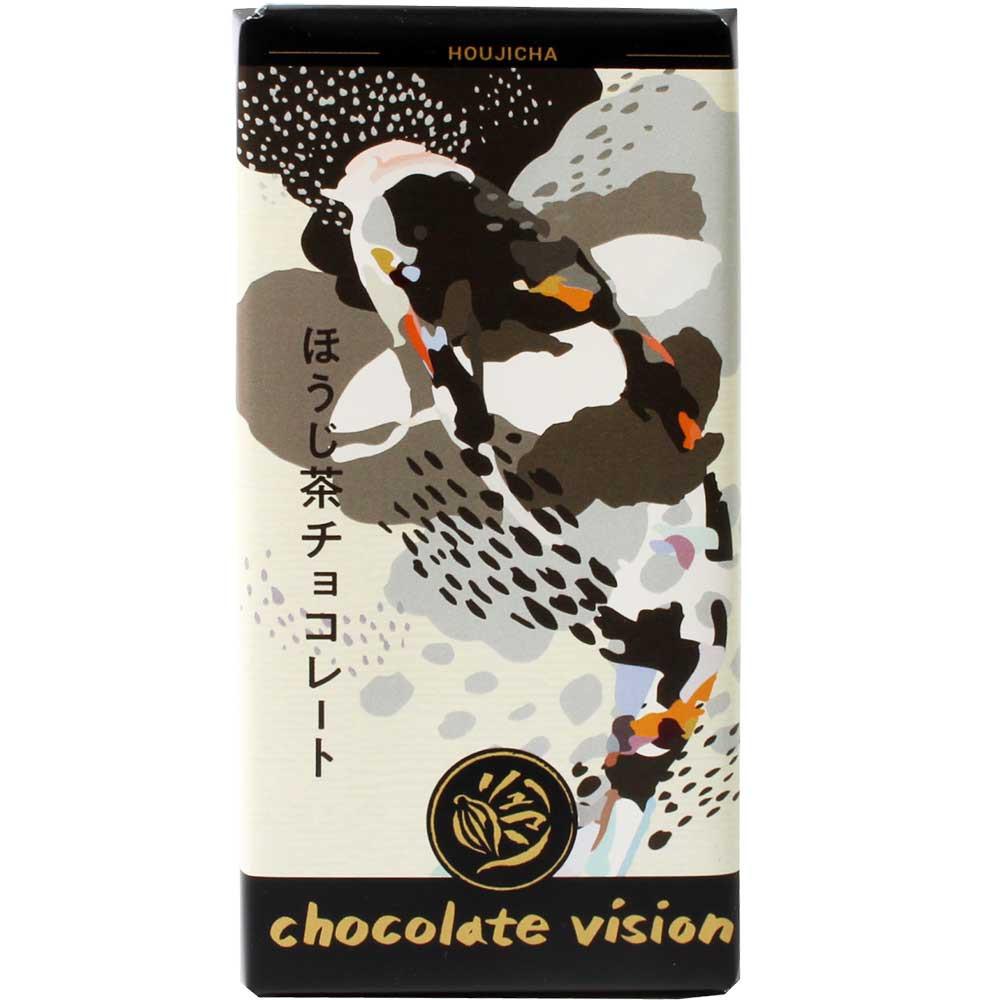 Hojicha - Weiße Schokolade mit Houjicha, gerösteter grüner Tee