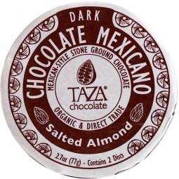 Salted Almond - dunkle Schokolade mit gemahlenen Mandeln und Salz