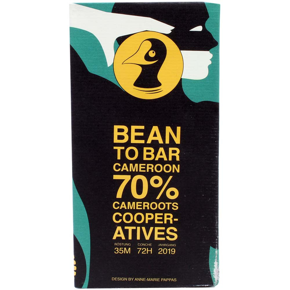 Cameroun 70% Cameroots Cooperatives - Chocolat noir
