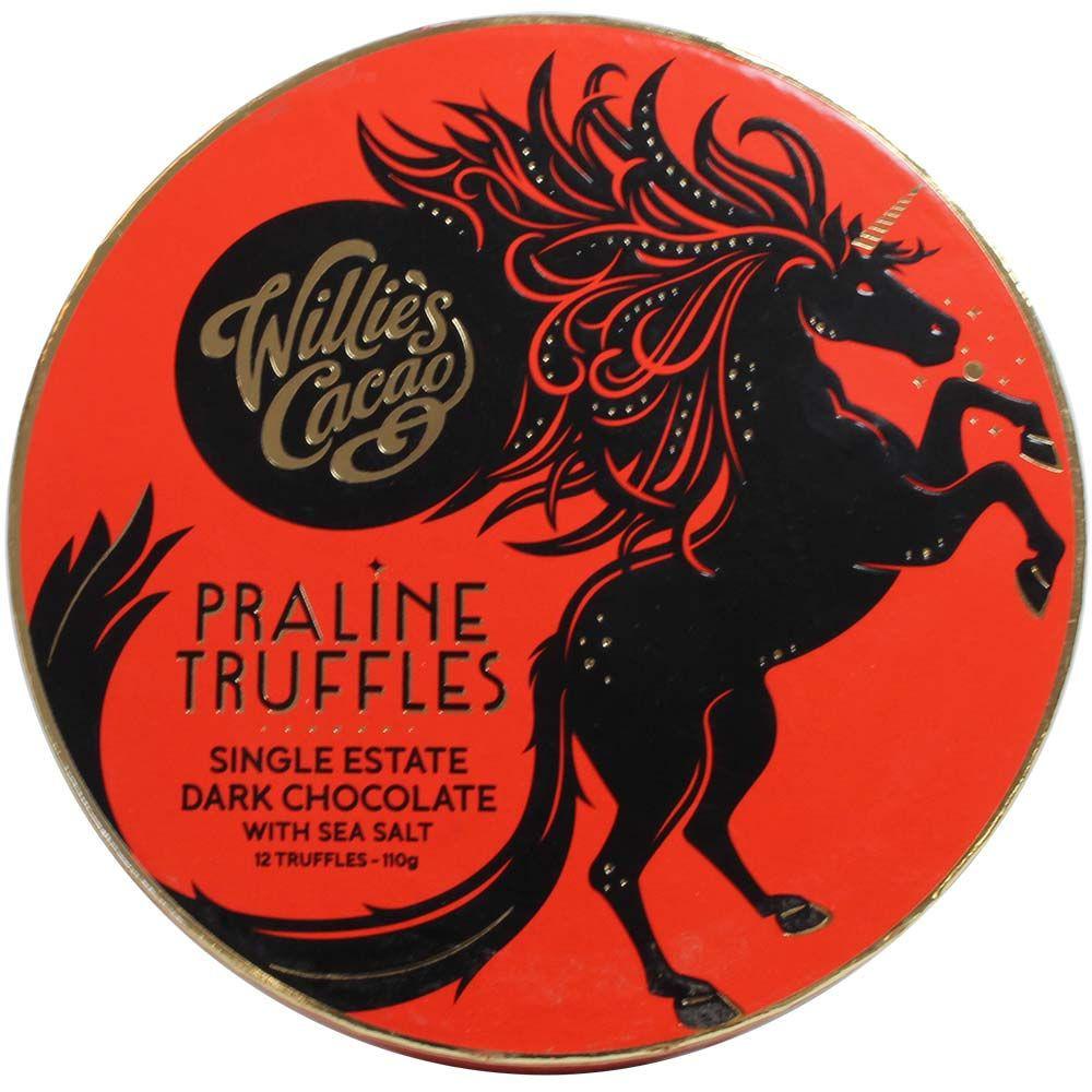 Pralinetruffels in pure chocolade met zeezout - $seoKeywords- Chocolats-De-Luxe