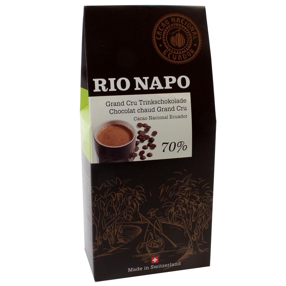 Cioccolato da bere biologico 70% a forma di goccia - Cioccolata calda, Svizzera, Cioccolato svizzero, Cioccolato con zucchero - Chocolats-De-Luxe