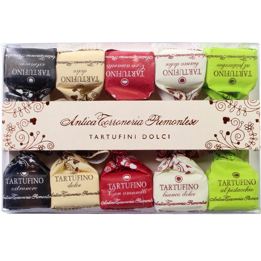 Antica Torroneria Piemontese, Tartufo, nocciole, Piemonte, Nuss, IGP Haselnuss, Sweet Fingerfood - Truffle, Italy, italian chocolate, chocolate with hazelnut, hazelnut chocolate - Chocolats-De-Luxe