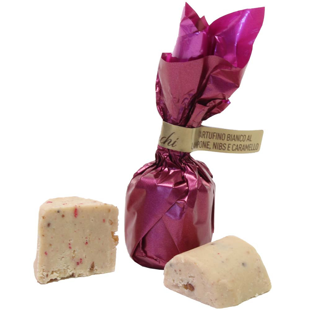Allegro raspberry truffle - Sweet Fingerfood, alcohol free Chocolate, gluten free chocolate, Italy, italian chocolate, chocolate with raspberry, raspberry chocolate - Chocolats-De-Luxe