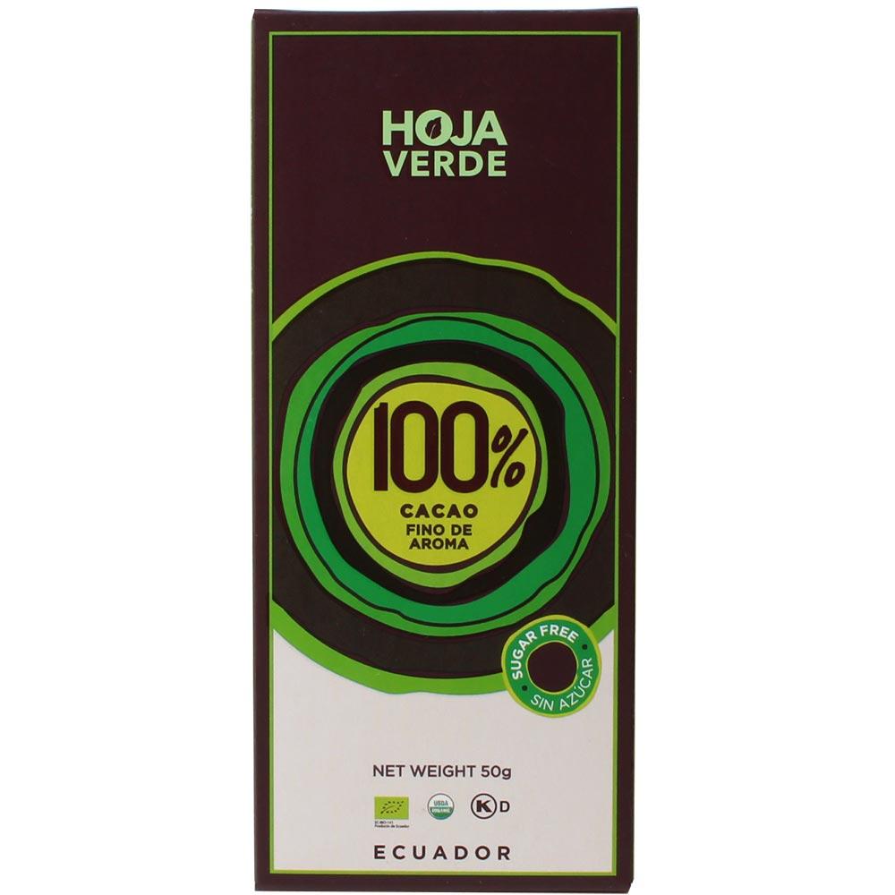 Cioccolato fondente al 100%