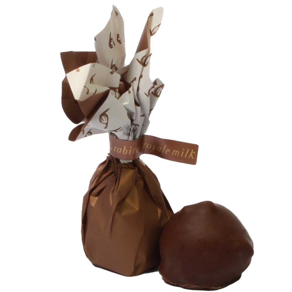 Rabitos Royale de higo bañado en chocolate con relleno de caramelo salado - Recubierto de chocolate, SweetFingerfood, sin alcohol, España, chocolate español, Chocolate con caramelo - Chocolats-De-Luxe