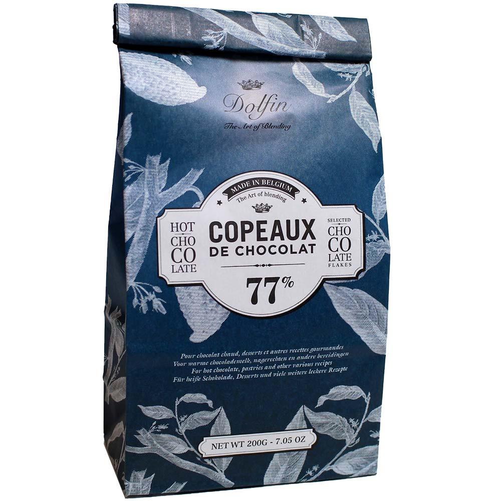 Cioccolato da bere Les Copeaux in un sacchetto Cioccolato fondente 77%