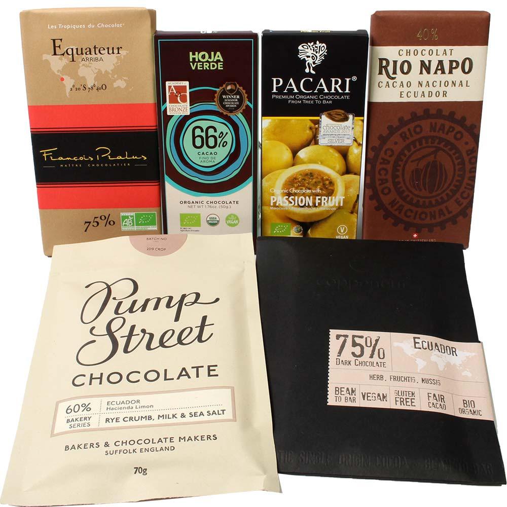 Paquete de chocolate de Ecuador -  - Chocolats-De-Luxe