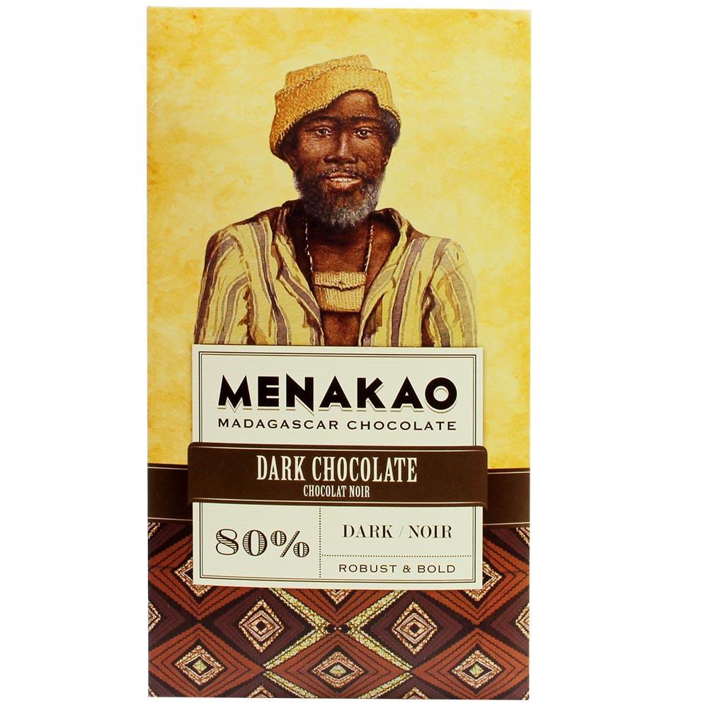 Dark Chocolate 80% Trinitario - Donkere chocolade - Chocoladerepen, geschikt voor vegetariërs, veganistvriendelijk, Madagaskar, Malagasy chocolade, Chocolade met suiker - Chocolats-De-Luxe