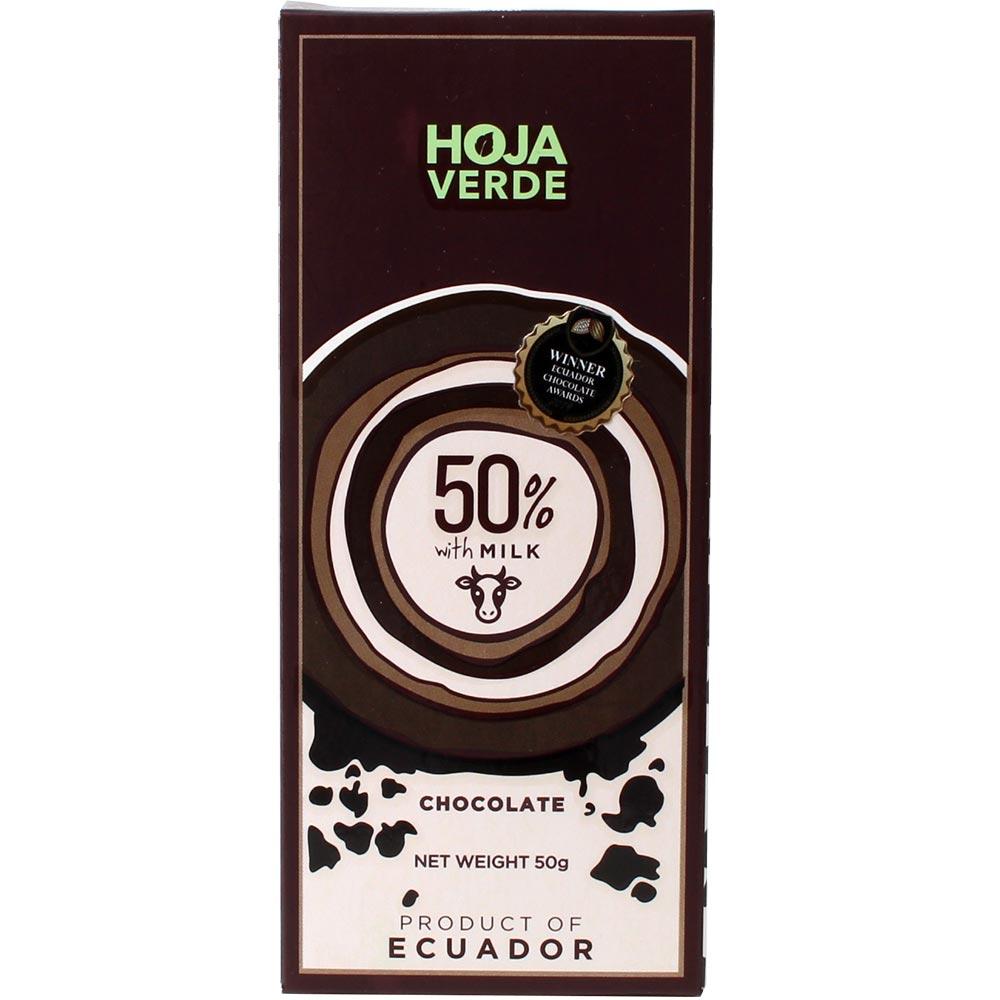 50% met melk - volle melkchocolade
