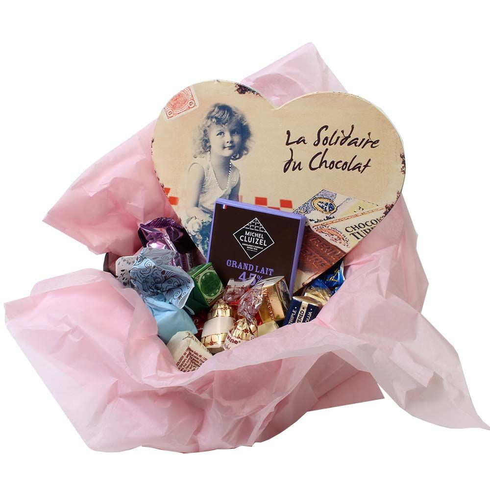 Gift set heart box