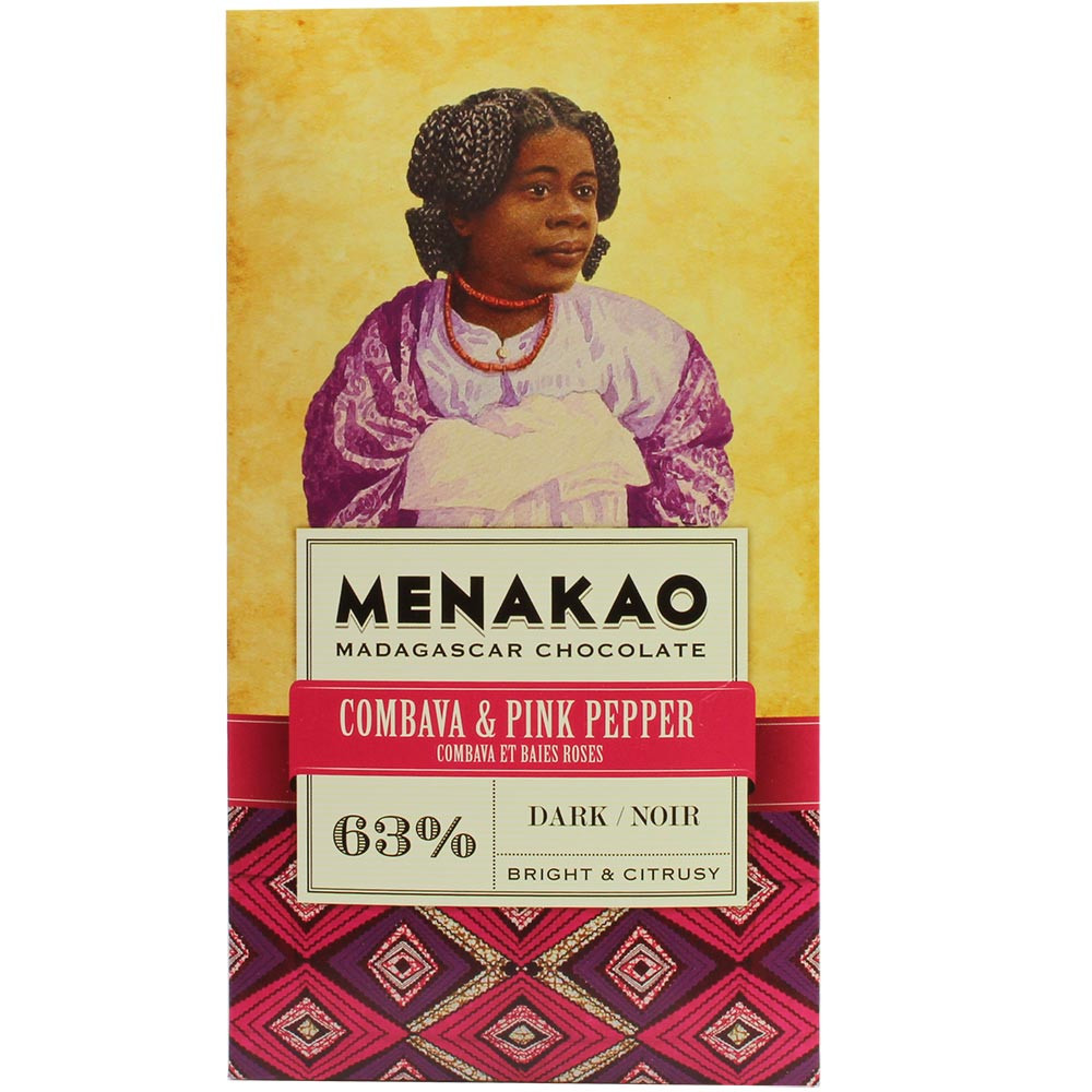 63% Combava & Pink Pepper - Trinitario
