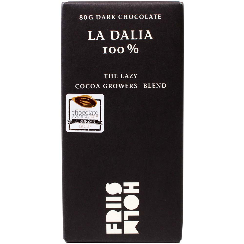 La Dalia 100% The Lazy Cocoa Growers Blend Schokolade