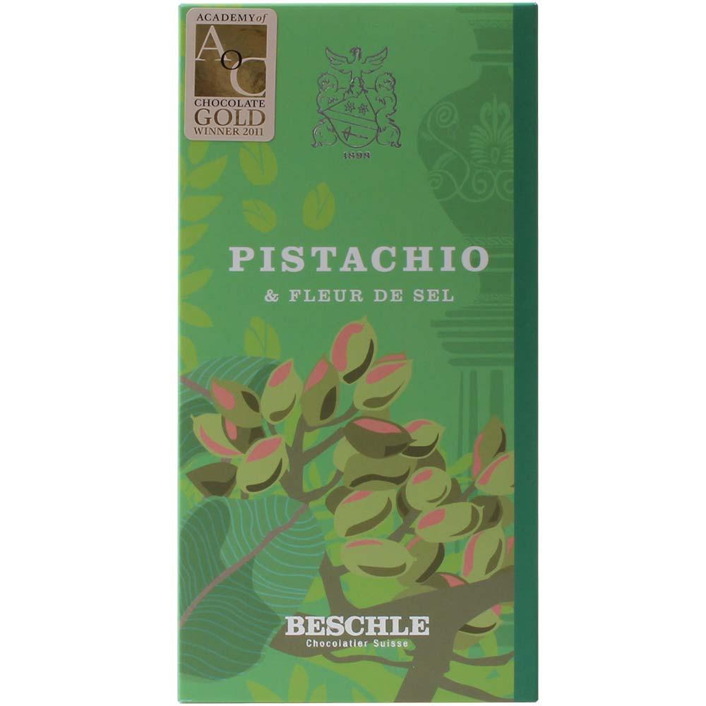 64% Grand Cru Trinitario Pistacho con Fleur de Sel