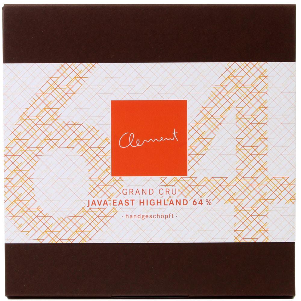 Criollo, Java, Zarbitter Schokolade, Clement Chococult - Tavola di cioccolato, vegan-cordiale, Svizzera, Cioccolato svizzero, Cioccolato con zucchero - Chocolats-De-Luxe