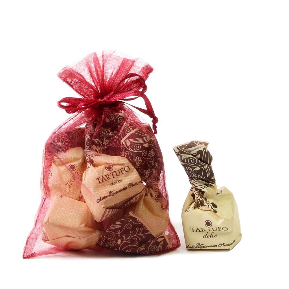 Tartufi, dunkle Schokolade, Haselnuss -  - Chocolats-De-Luxe