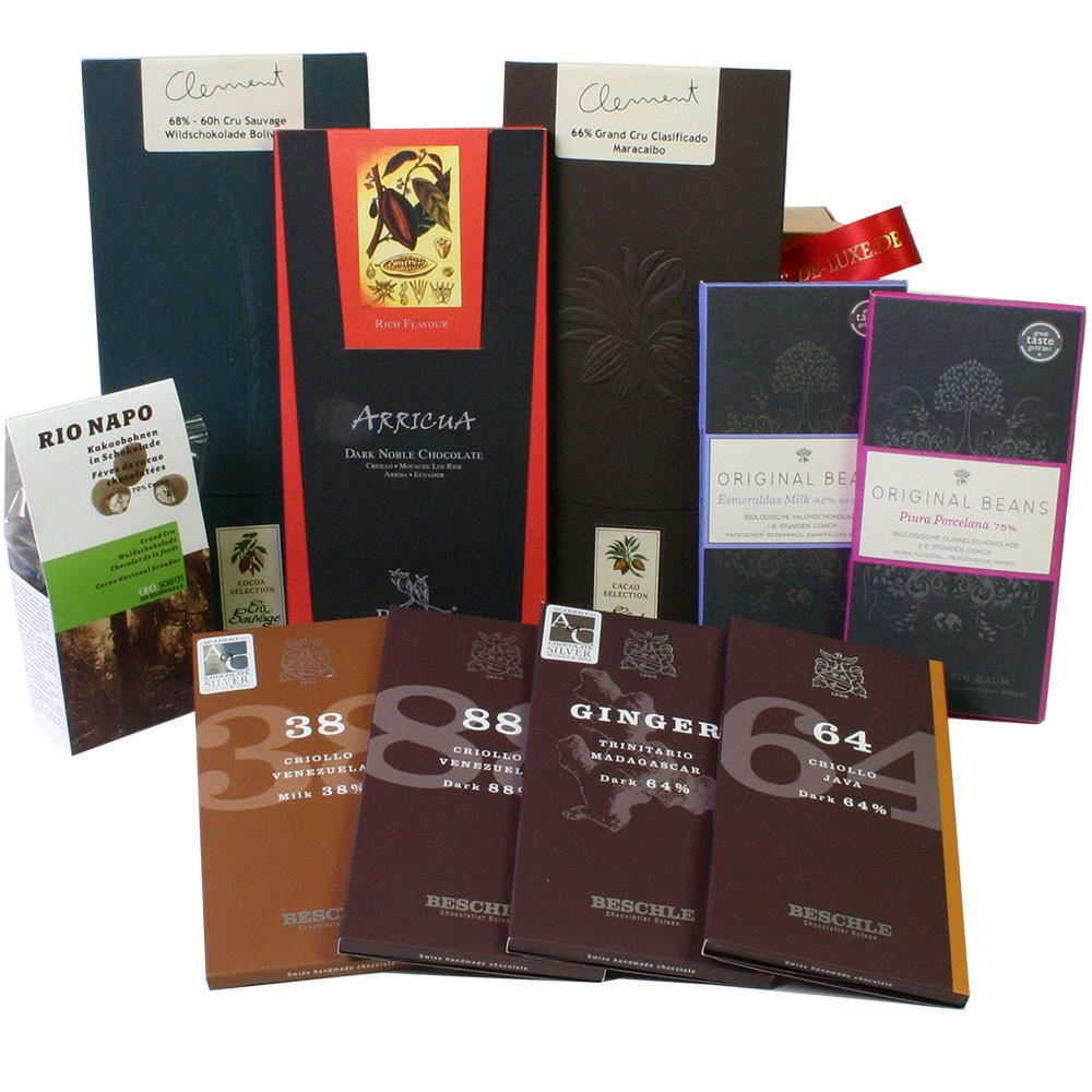 Schweizer Schokolade, Felchlin, Grand Cru Schokolade,                                                                                                                                                    -  - Chocolats-De-Luxe