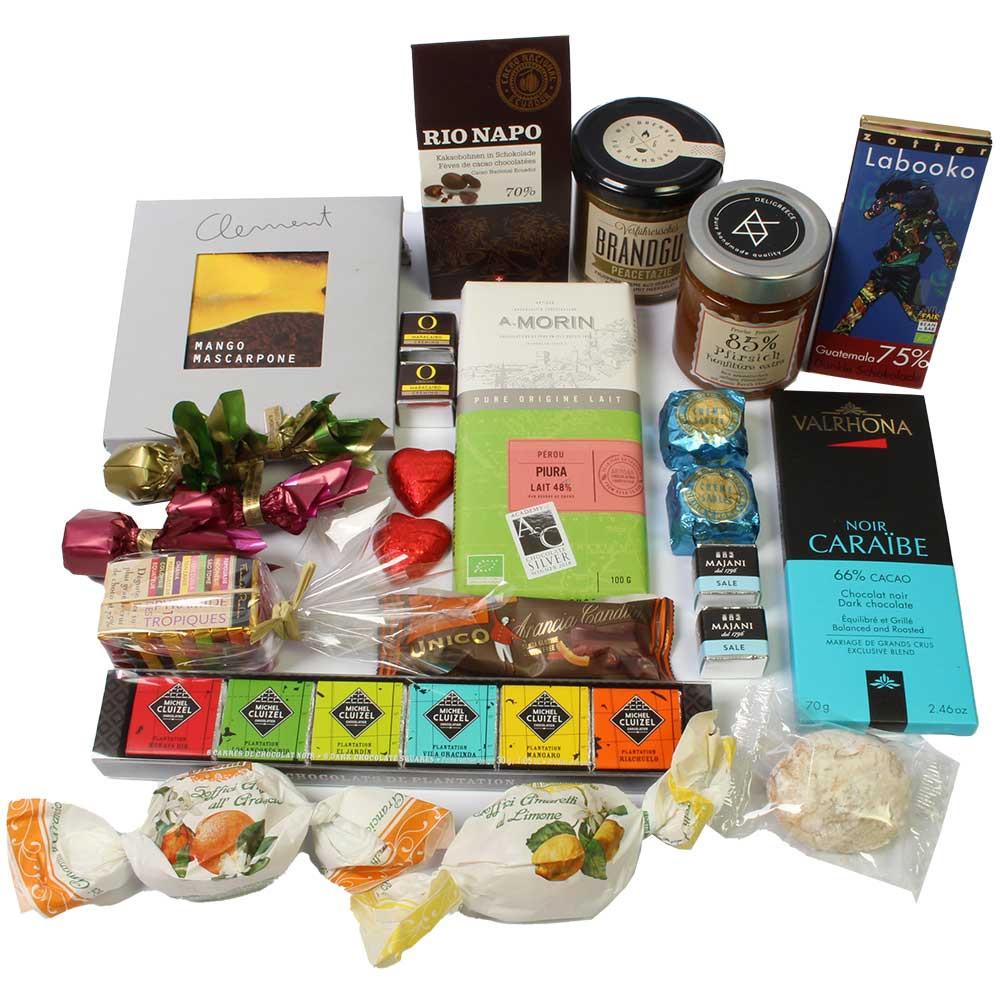 Carepaket für Ihre Lieben -  - Chocolats-De-Luxe