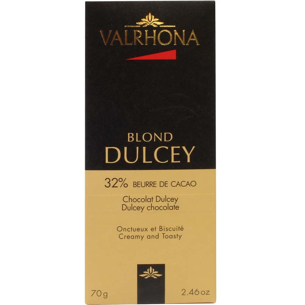Blond Dulcey 32% weiße Schokolade - Tavola di cioccolato, Francia, cioccolato francese - Chocolats-De-Luxe