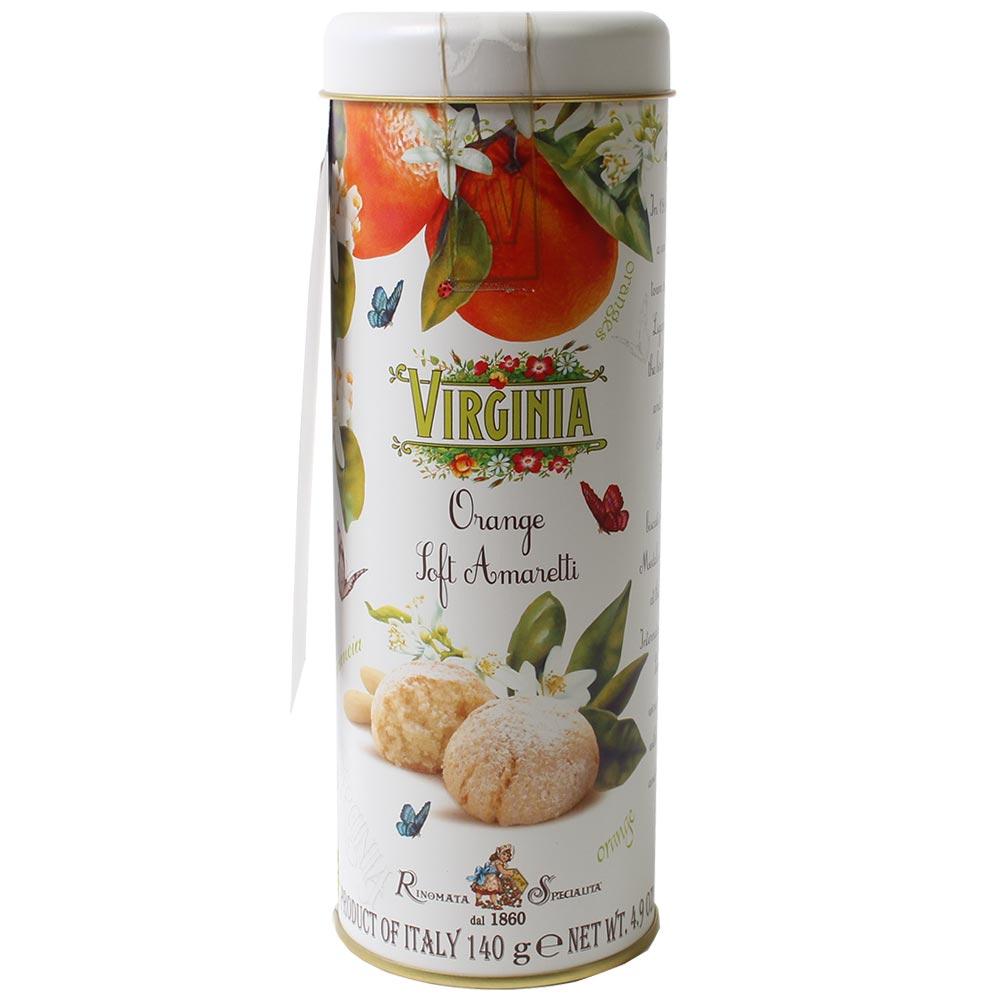 Caja regalo de Galletas Amaretto Naranja Suave
