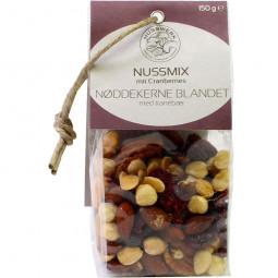 Nussmix mit Cranberries ohne Salz