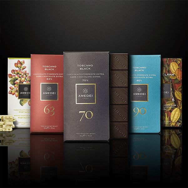 Schokoladen von Amedei Tuscany