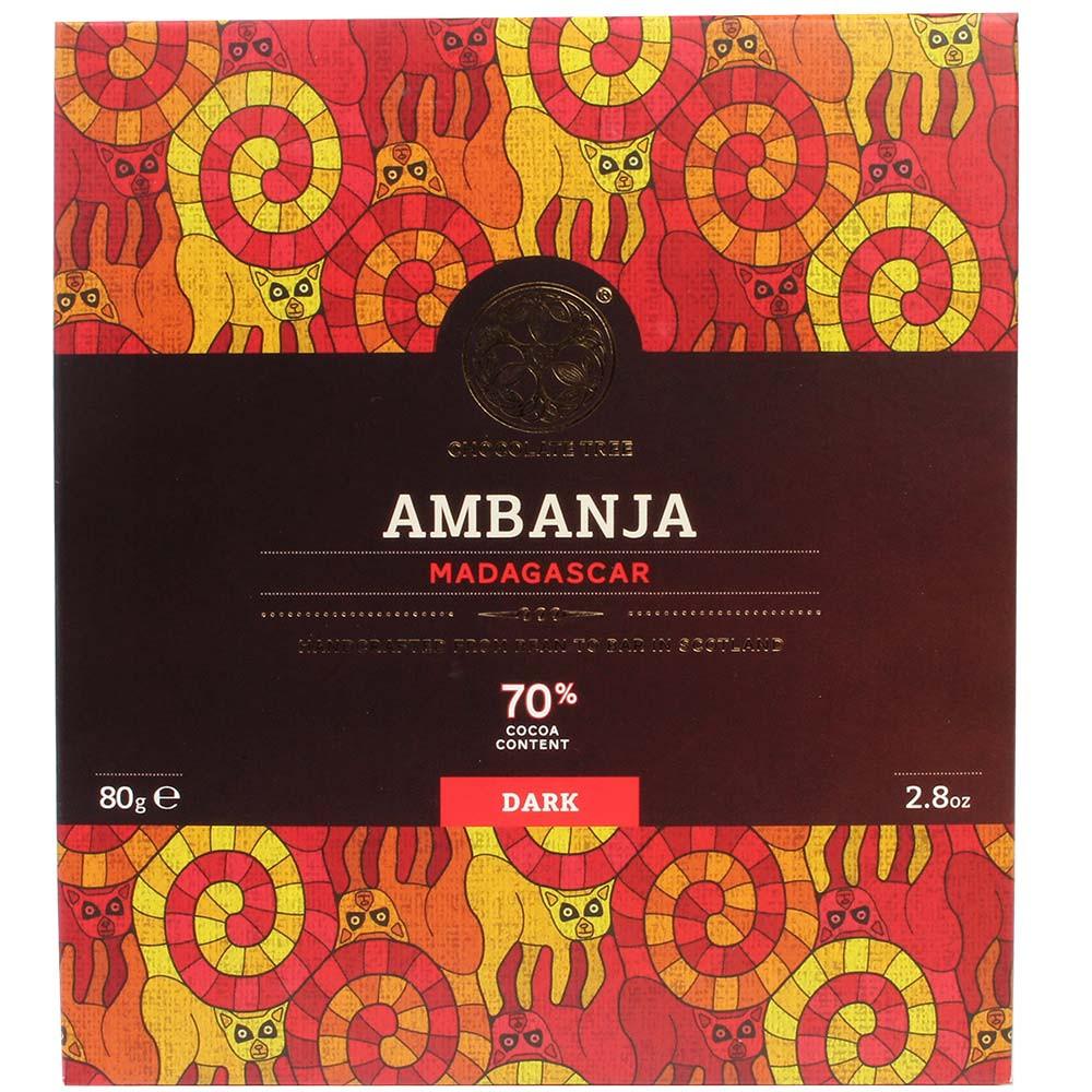 Ambanja Madagascar 70% Zartbitterschokolade