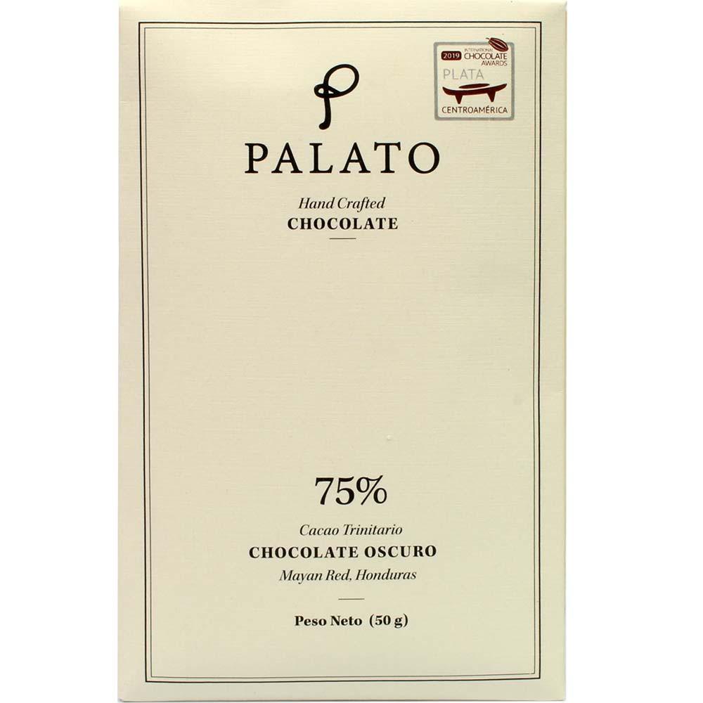 75% Chocolate Oscuro Cacao Wampusirpi Honduras - dunkle Schokolade - Tavola di cioccolato, adatto ai vegetariani, vegan-cordiale, Honduras, Cioccolato honduregno - Chocolats-De-Luxe