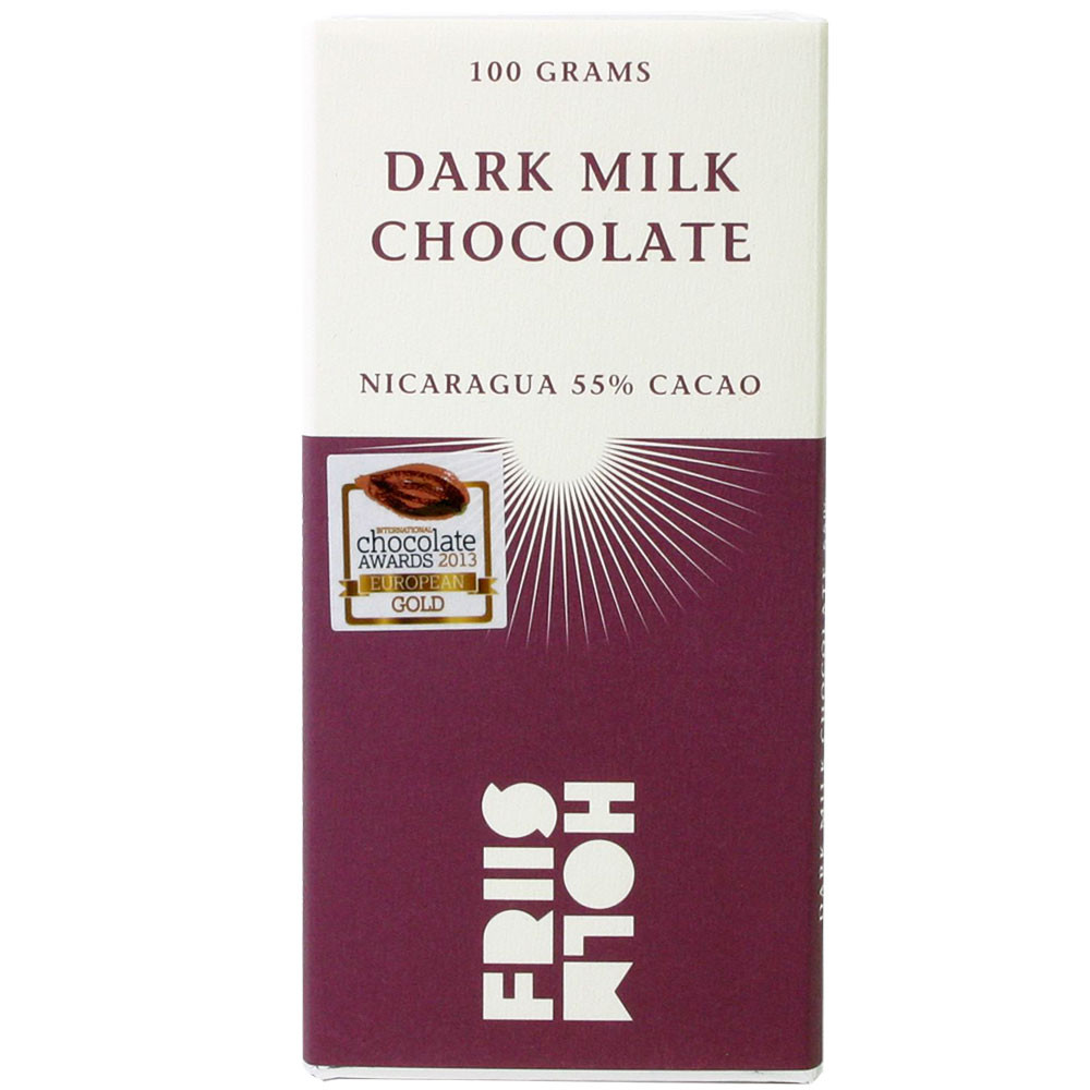 dark milk chocolate, chocolat noir au lait, Nicaragua,                                                                                                                                                   - Tablette de chocolat, France, chocolat français, chocolat au lait - Chocolats-De-Luxe